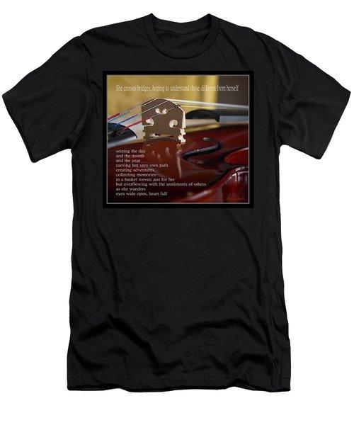 Peace Bridge Men's T-Shirt (Athletic Fit)