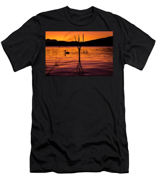 Men's T-Shirt (Athletic Fit) featuring the photograph Pelican by Rob D Imagery
