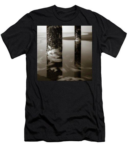Pillars And Swirls Men's T-Shirt (Athletic Fit)