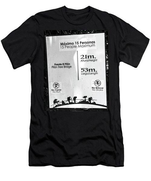 Pilon Tree Bridge Costa Rica Men's T-Shirt (Athletic Fit)