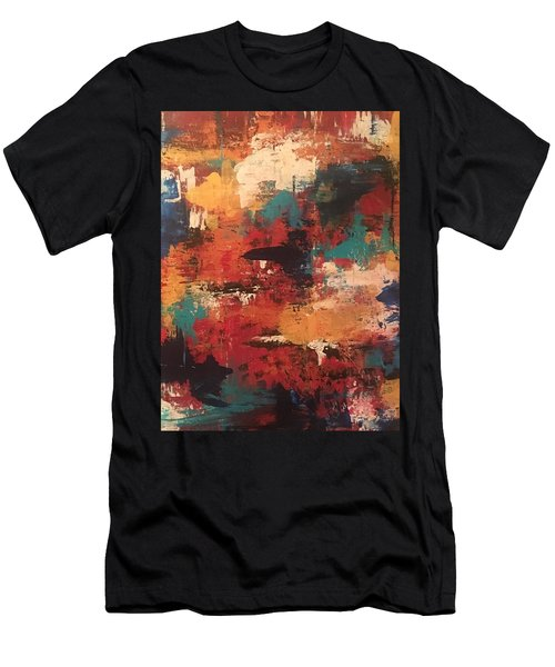 Playing With Color Men's T-Shirt (Athletic Fit)