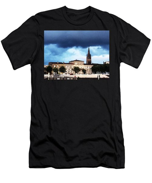 Poking The Storm Men's T-Shirt (Athletic Fit)
