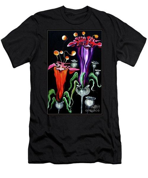 Poppies Fantasy.. Men's T-Shirt (Athletic Fit)
