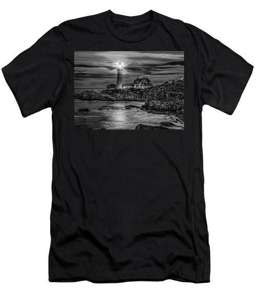 Portland Lighthouse 7363 Men's T-Shirt (Athletic Fit)