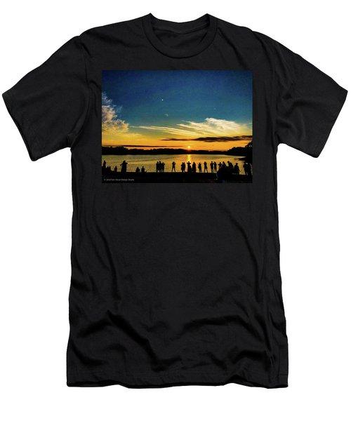 Portland Pauls Sunset Men's T-Shirt (Athletic Fit)