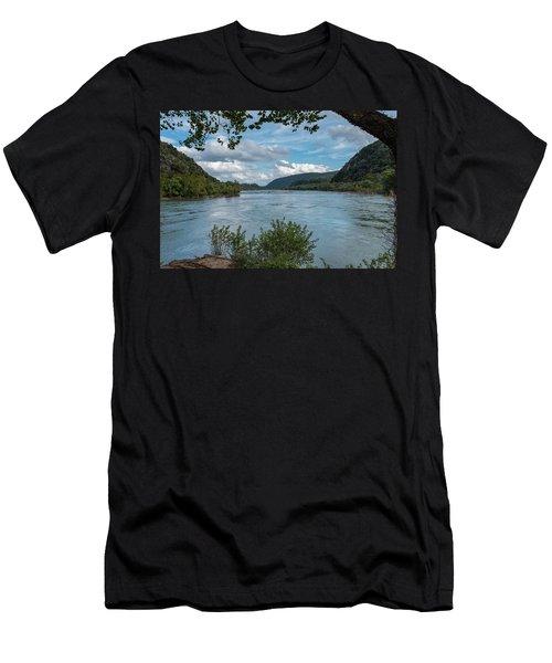 Potomac River At Harper's Ferry Men's T-Shirt (Athletic Fit)