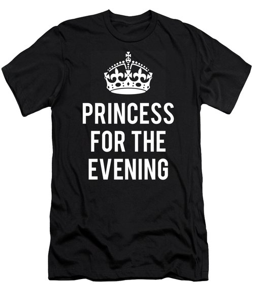 Princess For The Evening Men's T-Shirt (Athletic Fit)