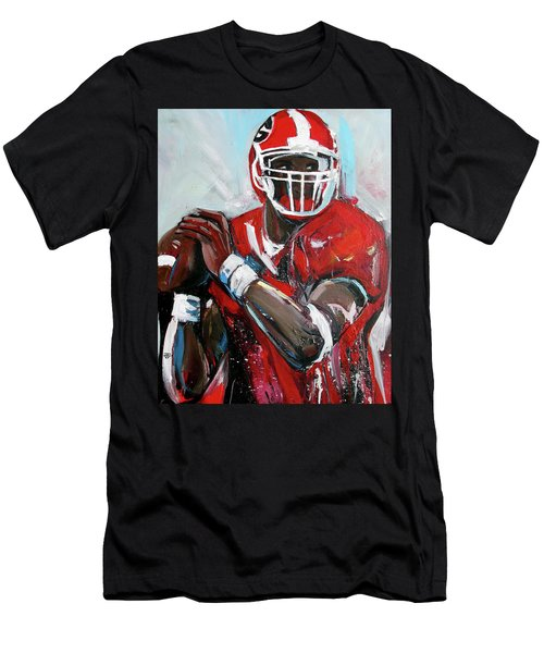 Quarterback Men's T-Shirt (Athletic Fit)
