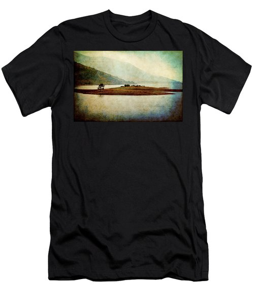 Men's T-Shirt (Athletic Fit) featuring the photograph Quiet Before The Storm by Milena Ilieva