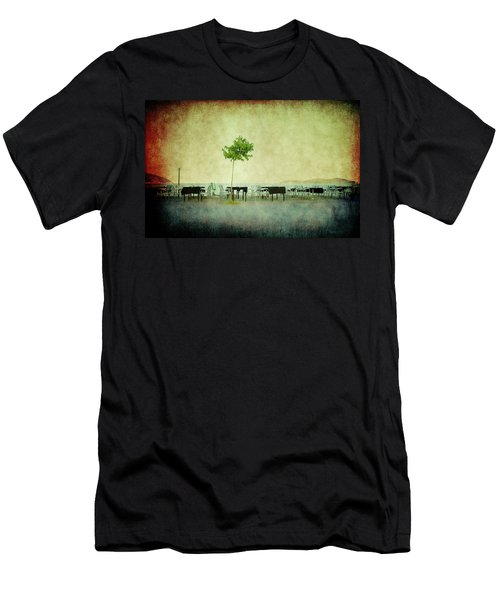 Men's T-Shirt (Athletic Fit) featuring the photograph Quiet Evening by Milena Ilieva