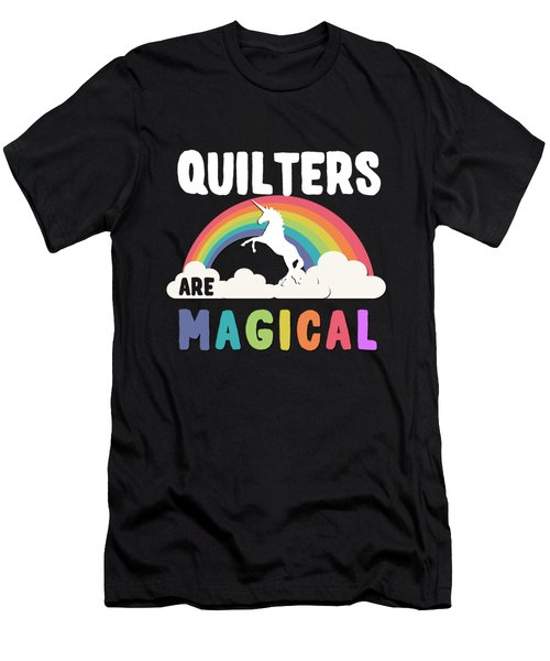 Quilters Are Magical Men's T-Shirt (Athletic Fit)