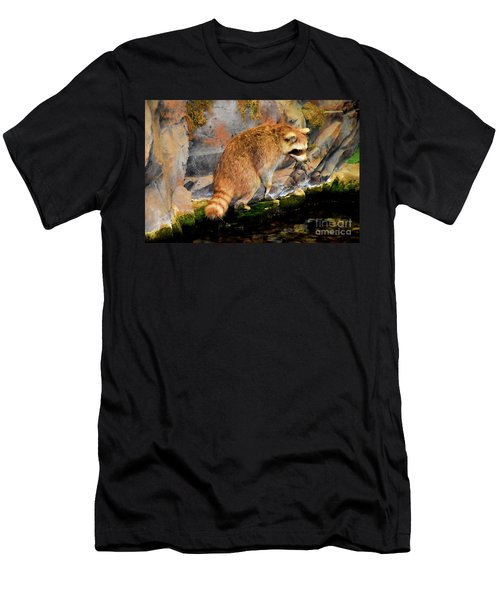 Raccoon 609 Men's T-Shirt (Athletic Fit)