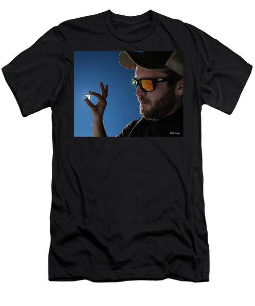 Rare Obsidian  Men's T-Shirt (Athletic Fit)