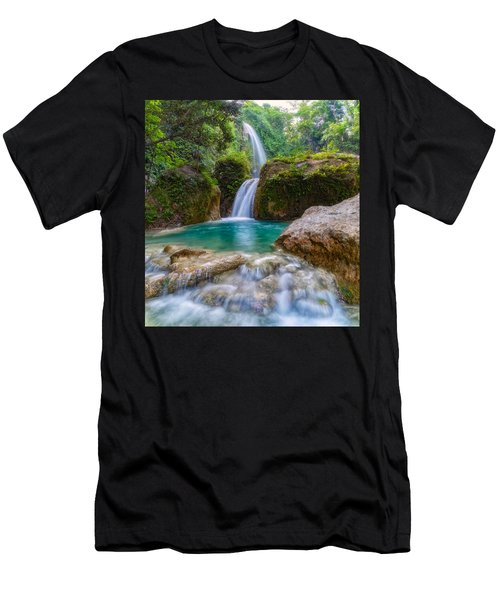 Men's T-Shirt (Athletic Fit) featuring the photograph Refreshed by Russell Pugh