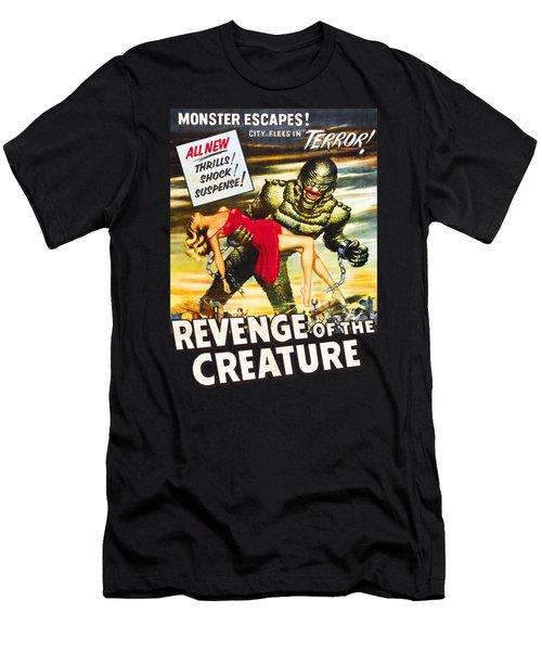 Revenge Of The Creature Movi Poster Men's T-Shirt (Athletic Fit)