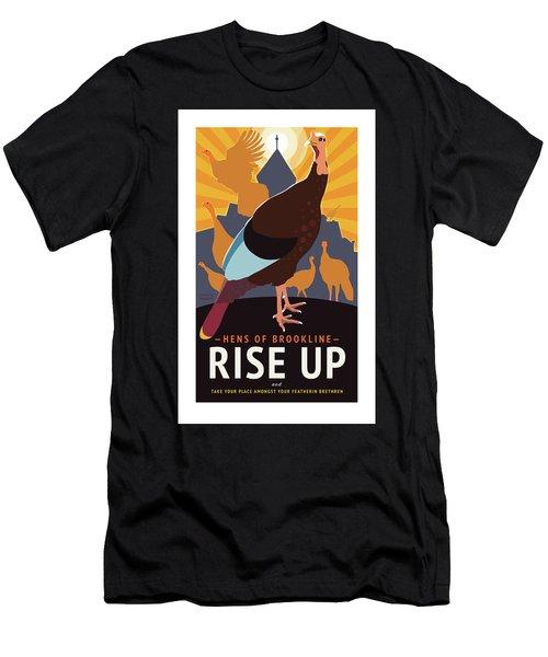 Rise Up Men's T-Shirt (Athletic Fit)