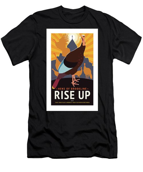 Rise Up Men's T-Shirt (Athletic Fit)