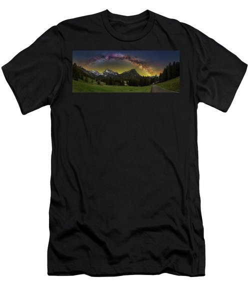 Road To Heaven Men's T-Shirt (Athletic Fit)