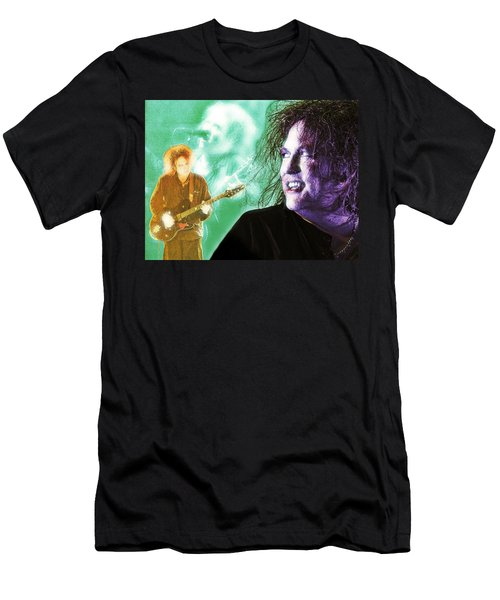 Men's T-Shirt (Athletic Fit) featuring the digital art Robert Smith by Mark Baranowski