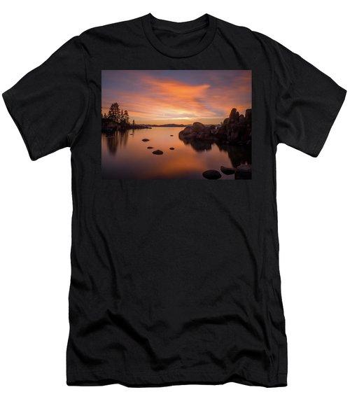 Rock Balance Men's T-Shirt (Athletic Fit)