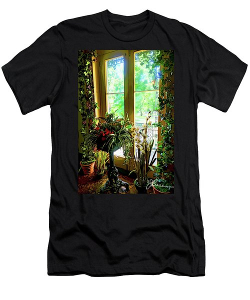 Men's T-Shirt (Athletic Fit) featuring the photograph Room With A View by Joan Reese