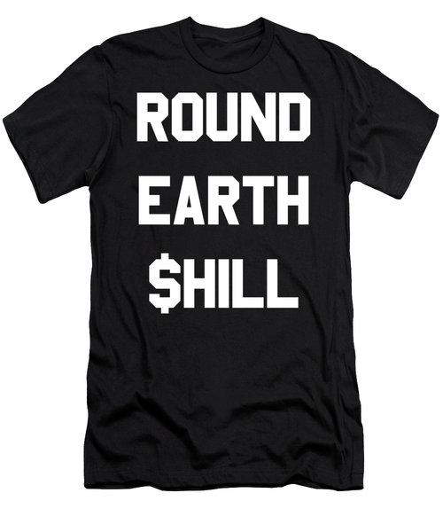 Round Earth Shill Men's T-Shirt (Athletic Fit)