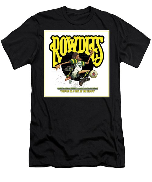 Rowdies Old School Men's T-Shirt (Athletic Fit)