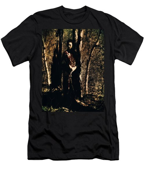 Men's T-Shirt (Athletic Fit) featuring the digital art Ryli 10 by Mark Baranowski