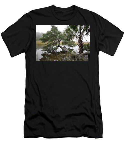 Salt Marsh Stretch  Men's T-Shirt (Athletic Fit)