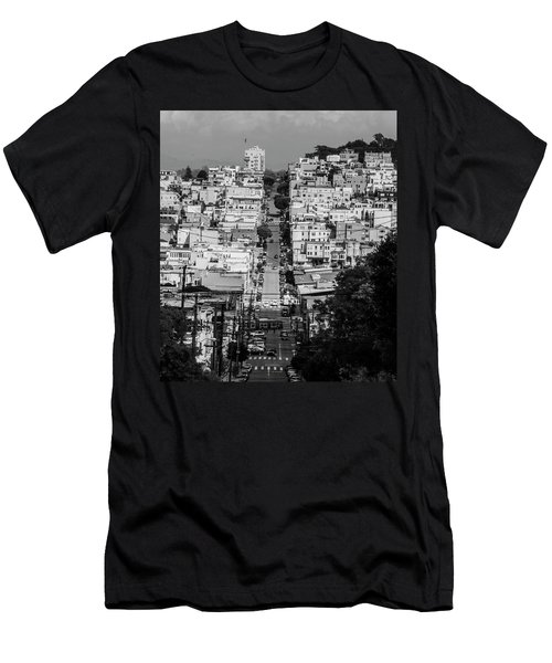 Men's T-Shirt (Athletic Fit) featuring the photograph San Francisco by Stuart Manning