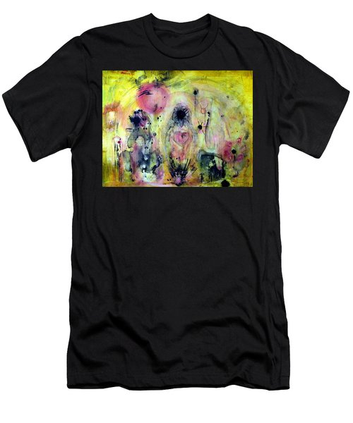 Men's T-Shirt (Athletic Fit) featuring the painting Sanguine by 'REA' Gallery