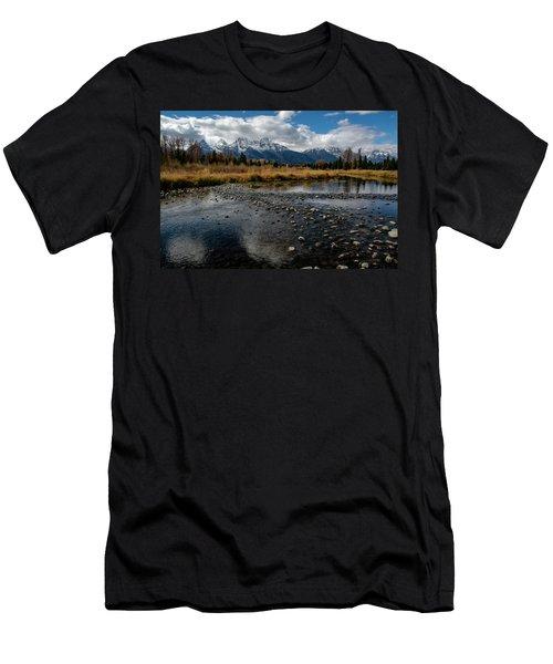 Men's T-Shirt (Athletic Fit) featuring the photograph Schwabacher Landing by Scott Read