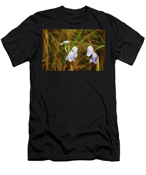 Scotland. Loch Rannoch. Harebells In The Grass. Men's T-Shirt (Athletic Fit)