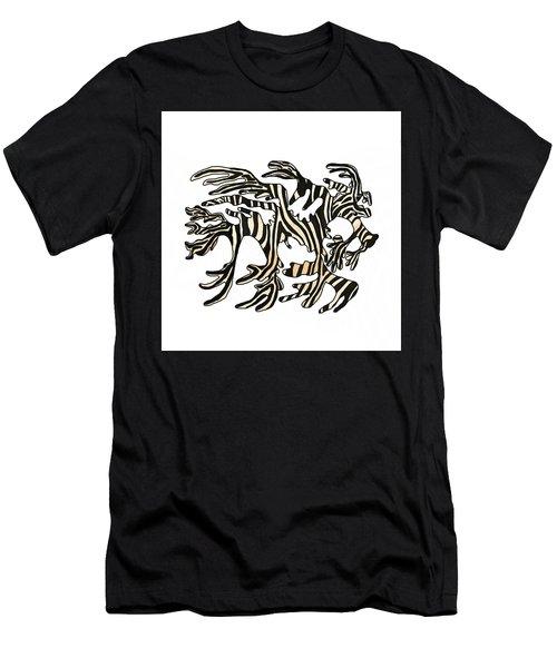 Sea Zebra Dragon 1 Men's T-Shirt (Athletic Fit)