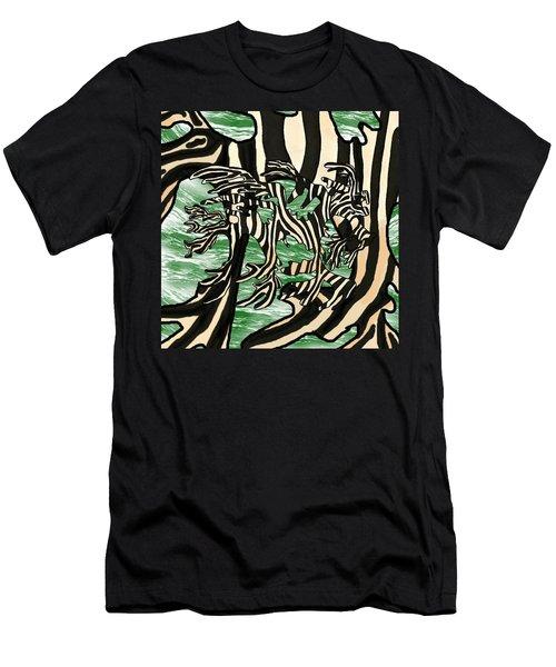 Sea Zebra Dragon 2 Men's T-Shirt (Athletic Fit)