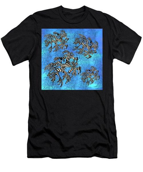 Sea Zebra Dragon 4 Men's T-Shirt (Athletic Fit)