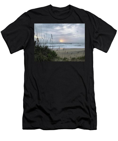 Men's T-Shirt (Athletic Fit) featuring the photograph Sept. 14, 2018 Sunrise  by Barbara Ann Bell