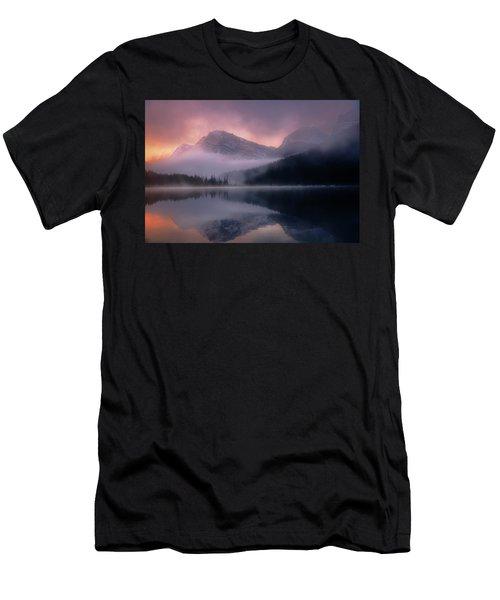 September Sunrise Banff Men's T-Shirt (Athletic Fit)
