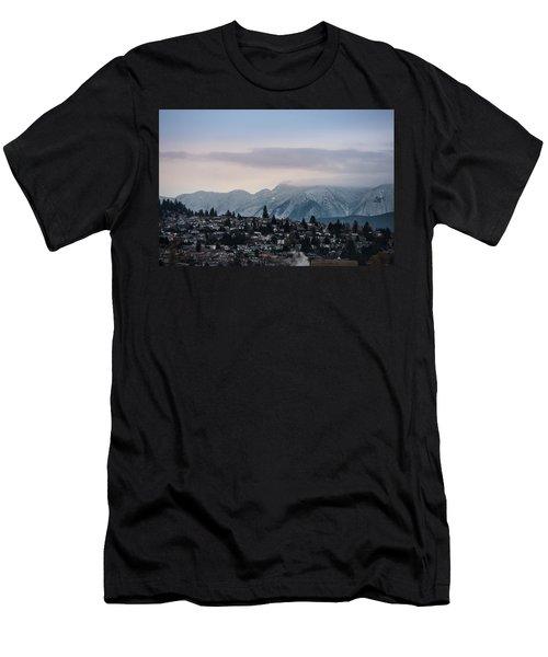 Seymour Winterscape Men's T-Shirt (Athletic Fit)