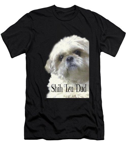 Shih Tzu For Dad Men's T-Shirt (Athletic Fit)