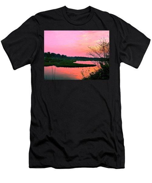 Sitka Sedge Sunset Men's T-Shirt (Athletic Fit)