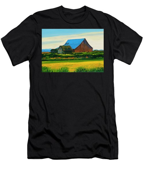 Skagit Valley Barn #4 Men's T-Shirt (Athletic Fit)