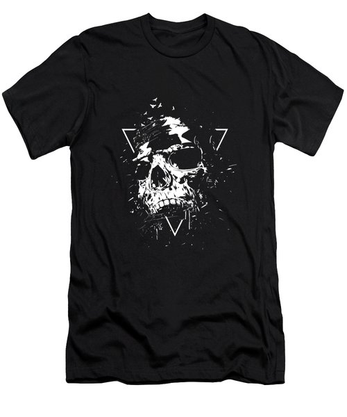 Skull X II Men's T-Shirt (Athletic Fit)