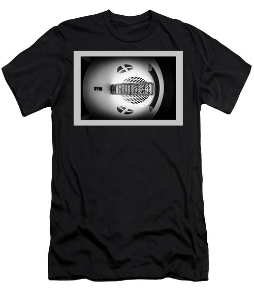Men's T-Shirt (Athletic Fit) featuring the photograph Skywalk Moma by Michael Hope