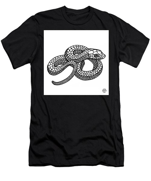 Smooth Green Snake Men's T-Shirt (Athletic Fit)