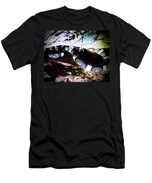 Men's T-Shirt (Athletic Fit) featuring the photograph Sonoran Desert Longnosed Snake by Judy Kennedy
