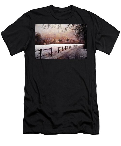 Men's T-Shirt (Athletic Fit) featuring the photograph Sounds In The Paddock by Randi Grace Nilsberg