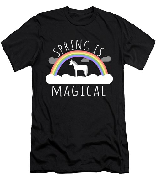 Spring Is Magical Men's T-Shirt (Athletic Fit)