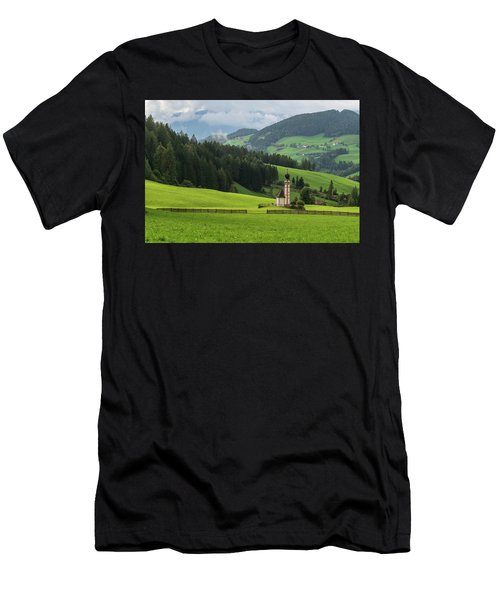 St Johann From The East Men's T-Shirt (Athletic Fit)