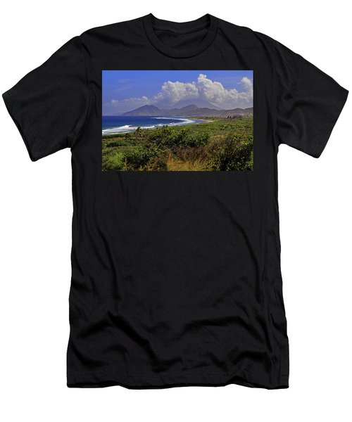 Men's T-Shirt (Athletic Fit) featuring the photograph St Kitts  by Tony Murtagh